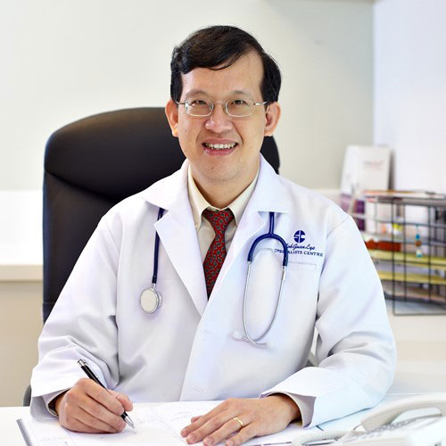 Dr Kevin Hew Poh Wai